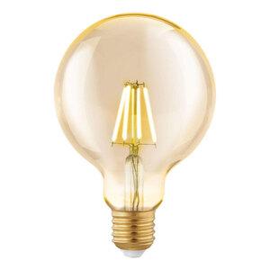 "Eglo              LED-Leuchtmittel ""Amber G95"", E27, 4 W"