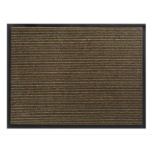"""Fußmatte """"Lines"""" 40x60 cm, braun"""
