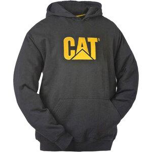 CAT              Kapuzenpullover, schwarz, Gr.M