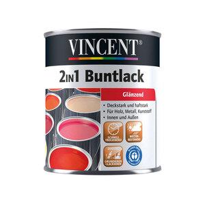 """Vincent              2in1 Buntlack """"Beige"""", Glänzend, 0,375 L"""