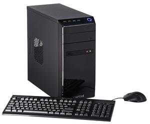 CAPTIVA Gaming I48-626, Gaming PC mit Celeron® Prozessor, 16 GB RAM, 240 GB SSD, 1 TB HDD, GeForce® GTX 1050 Ti, 4 GB