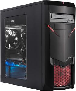 CAPTIVA R51-452, Gaming PC mit Ryzen 5 Prozessor, 16 GB RAM, 500 GB SSD, 1 TB HDD, Palit RTX2060 SUPER 8GB, 8 GB