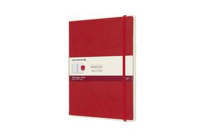 MOLESKINE XL, Version 01, Liniert Paper Tablet, Scharlachrot