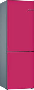 BOSCH KVN39IE3A Serie 4 Kühlgefrierkombination (A++, 273 kWh/Jahr, 2030 mm hoch, Himbeere)