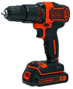 BLACK+DECKER BDCHD18S1A Akku-Schlagbohrschrauber