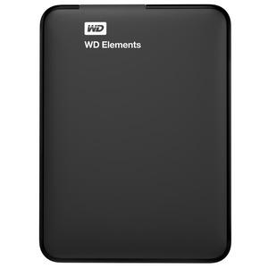 WD Elements™ 1.5 TB Festplatte 2.5 Zoll in Schwarz