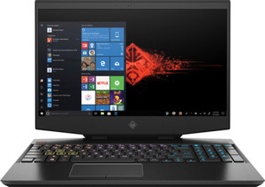 HP OMEN 15-DH0310NG Gaming Notebook mit Core™ i7, 16 GB RAM, 512 GB & GeForce RTX™ 2060 in Schwarz