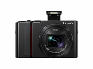 PANASONIC Lumix DC-TZ202 LEICA Digitalkamera, 20 Megapixel in Schwarz