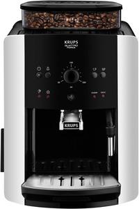 KRUPS EA8118 Arabica Quattro Force Kaffeevollautomat in Schwarz/Silber