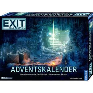 """Kosmos EXIT - Das Spiel: Adventskalender 2020 """"Die geheimnisvolle Eishöhle"""""""