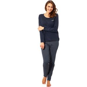 Esprit Schlafanzug, Rundhals, für Damen