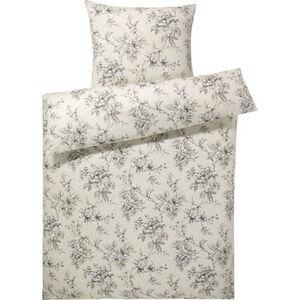 Estella Jersey-Bettwäschegarnitur, florales Muster