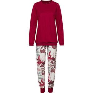 Calida Schlafanzug, Rundhalsausschnitt, Print, für Damen