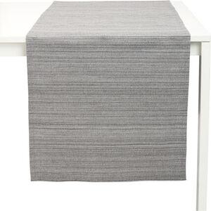 Galeria home Tischläufer, Streifenstruktur, uni