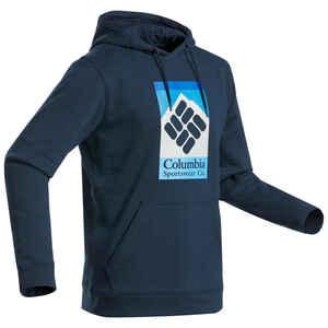 Sweatshirt Naturwandern Wells Way Columbia mit Kapuze Herren marineblau