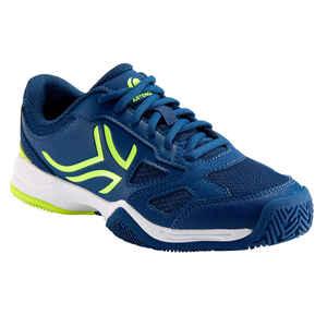 Tennisschuhe TS560 Turnschuhe Kinder nachtblau