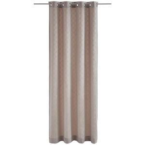 Joop! ÖSENSCHAL blickdicht 140/250 cm , J-Velvety , Beige , Textil , Uni , 140x250 cm , 003021093702