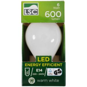 LSC Kugel-LED-Lampe in Soft Tone
