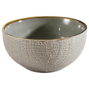 XXXLutz Schüsselset keramik steingut 6-teilig , 23077 , Creme , 15x5x15 cm , 007768023904