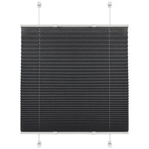 Boxxx PLISSEE halbtransparent 60/130 cm , 67529-005 Plissee Base , Hellgrau , Textil , Uni , 60x130 cm , Länge universell einstellbar , 006935030102