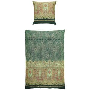 Bassetti Bettwäsche grün , 9306042 Marzia , Textil , Ornament , 135x200 cm , pflegeleicht, bügelleicht , 005639013004