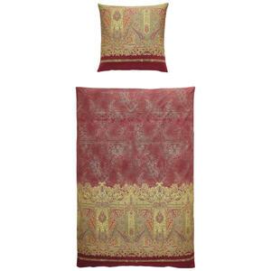 Bassetti Bettwäsche rot , 9306049 Marzia , Textil , Ornament , 155x220 cm , pflegeleicht, bügelleicht , 005639017003