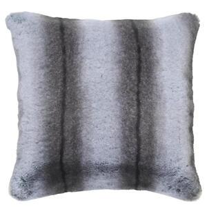 Ambiente Kissenhülle grau 48/48 cm , NEW Wolf , Textil , Uni , 48x48 cm , Webpelz , bügelfrei, schmutzabweisend, hochwertige Qualität, formstabil, langlebig , 008982021501