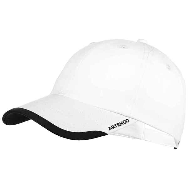 Schirmmütze Tennis-Cap TC 100 flexibel Gr. 58 weiss
