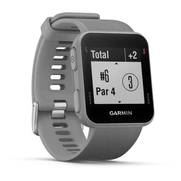 Golf GPS-Golfuhr Approach S10 grau