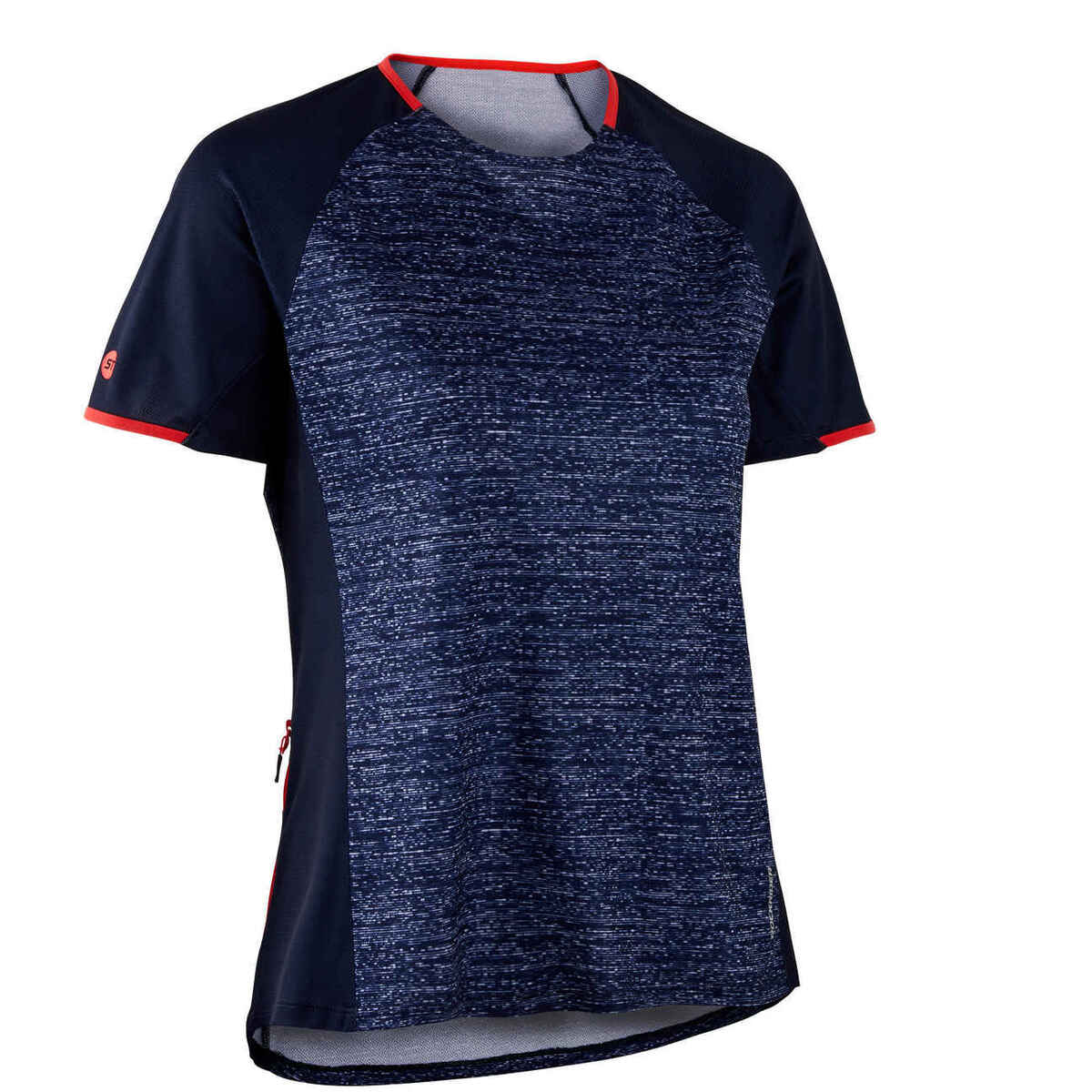 Bild 1 von Radtrikot kurzarm MTB ST 100 Damen marineblau