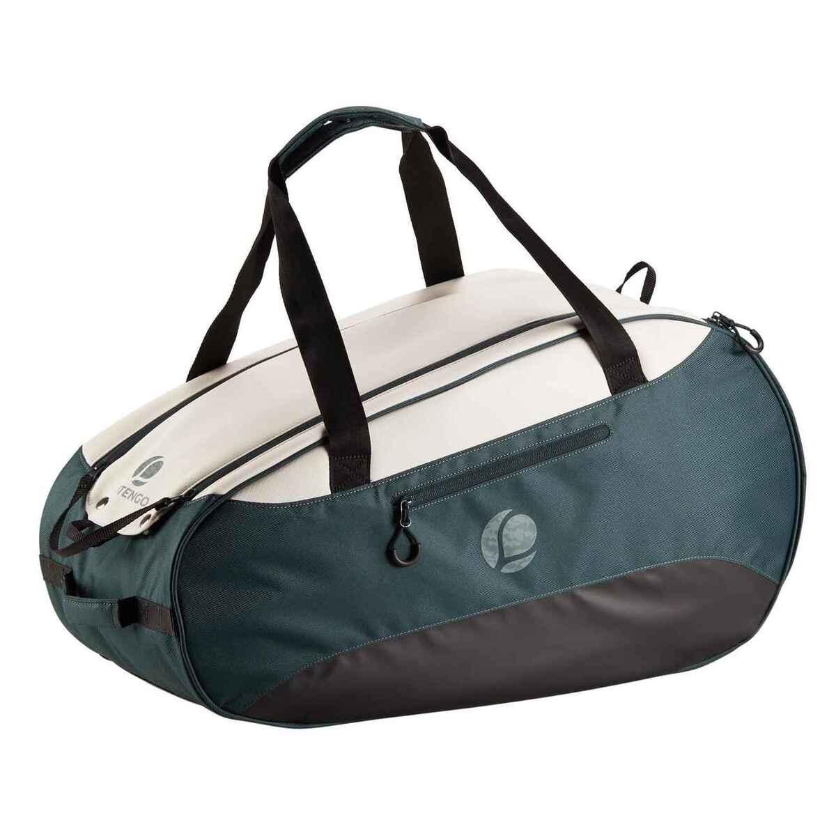 Bild 1 von Tennistasche 500 S khaki/weiß