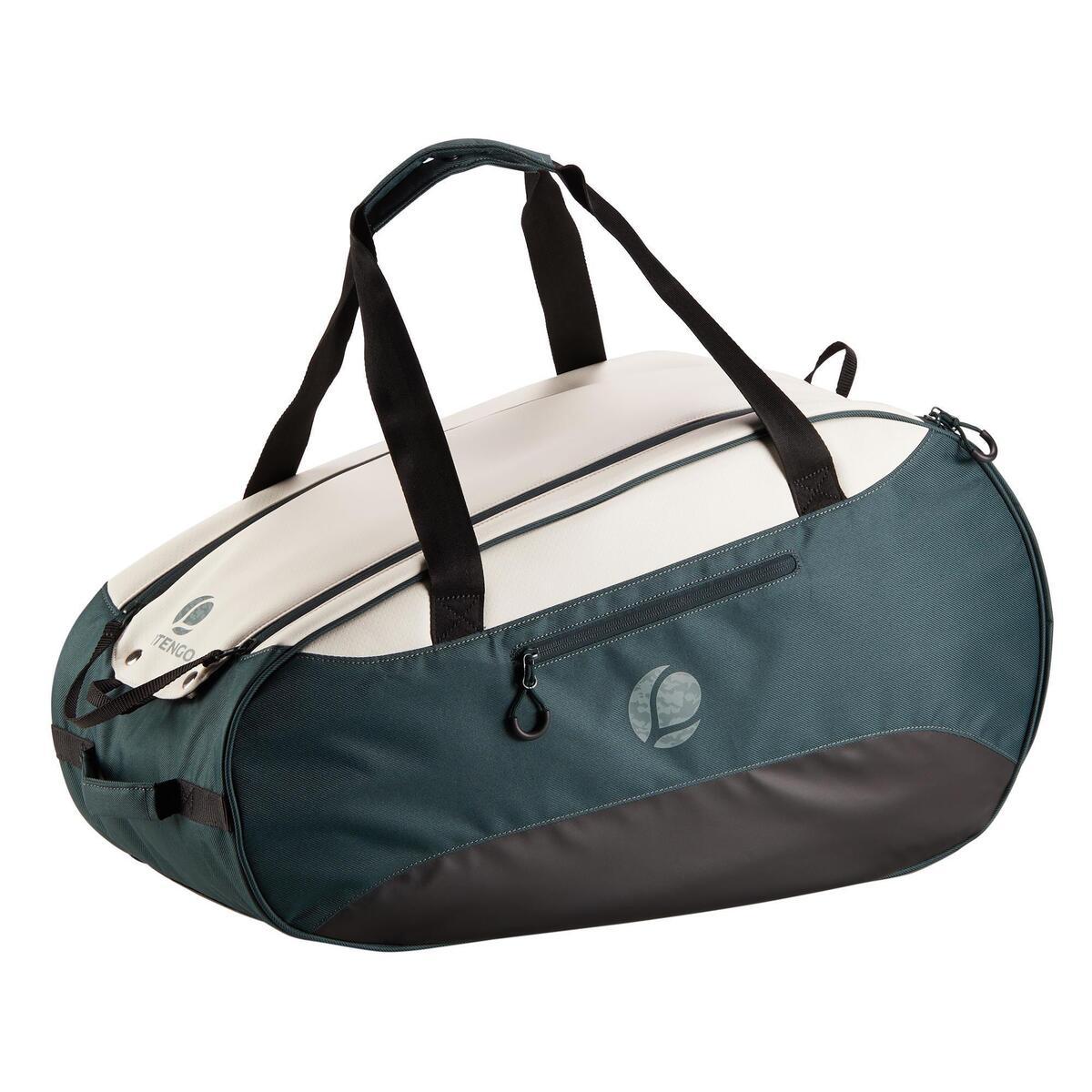 Bild 2 von Tennistasche 500 S khaki/weiß