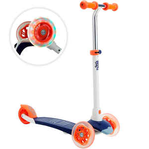 Scooter Tretroller B1 500 Kinder blau/rot