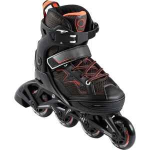 Inline Skates Inliner FIT 3 Kinder schwarz/orange