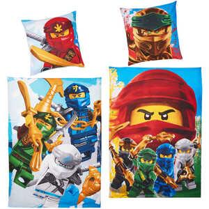 Bettwäsche-Garnitur »Lego Ninjago«