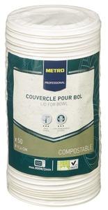 METRO Professional Deckel Suppenschüssel 450 ml Weiß Ø 11,4 cm 50 Stück
