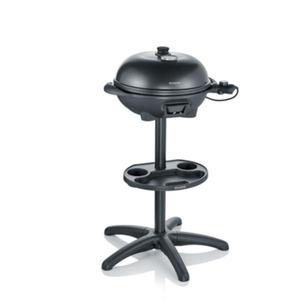 Severin PG 8541 Barbecue-Grill mit Standgestell schwarz