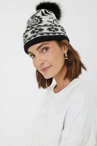 Wende-Mütze aus Strick