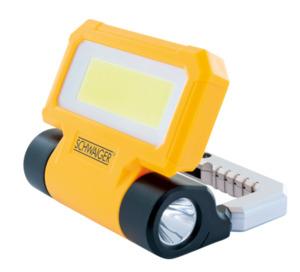 Schwaiger Arbeitsleuchte mit integrierter Taschenlampe