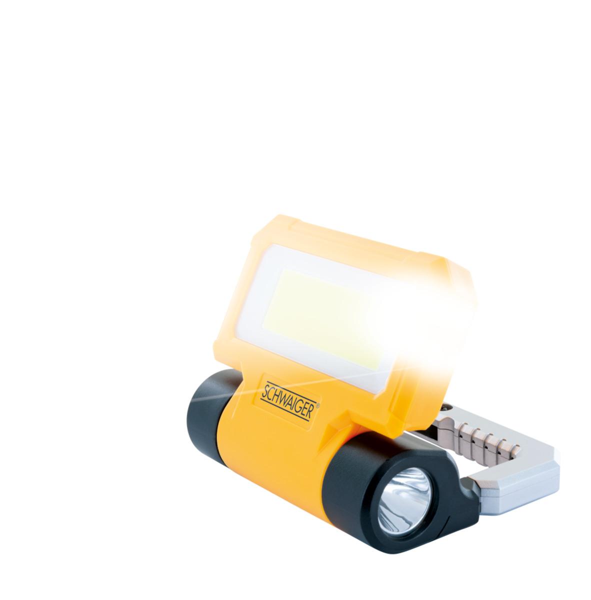 Bild 3 von Schwaiger Arbeitsleuchte mit integrierter Taschenlampe