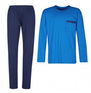 Götzburg Herren Schlafanzug, blau