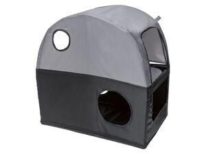 ZOOFARI® Haustier Liegeplatz, Tipi oder Reisehaus, für Katzen und Hunde, 6 kg Belastbarkeit