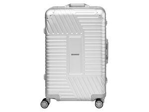 TOPMOVE® Aluminium Koffer 68l, silber