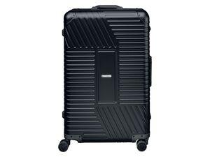 TOPMOVE® Aluminium Koffer 89l, schwarz