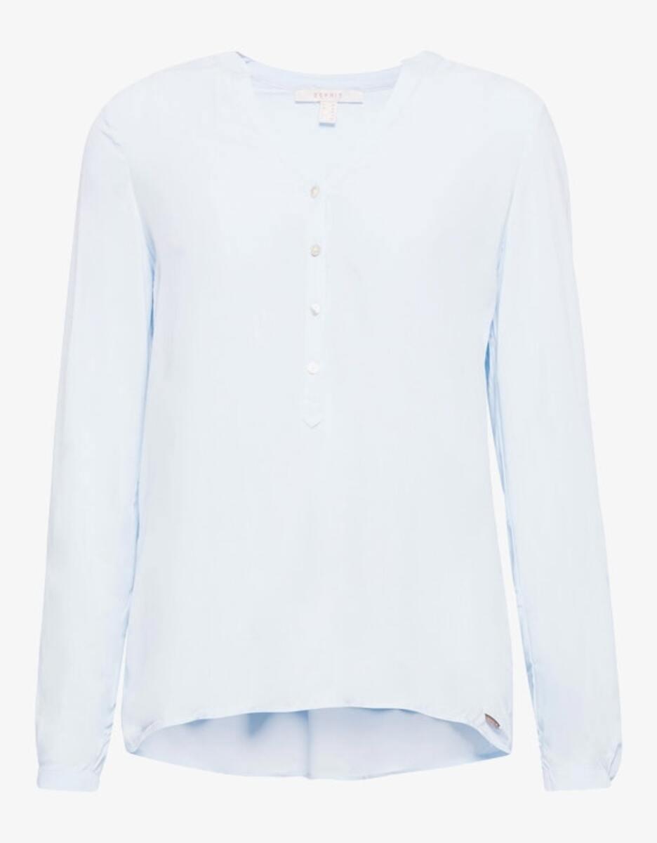Bild 1 von Esprit - Bluse mit Turn-up-Ärmeln