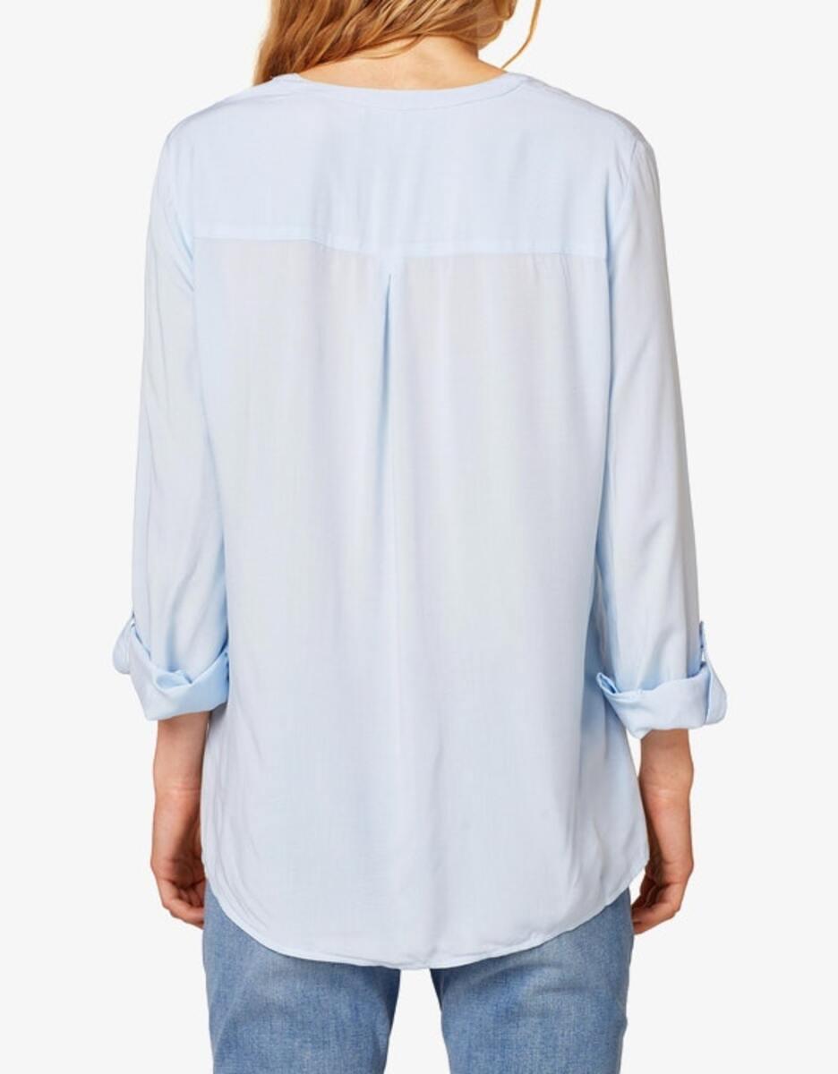 Bild 2 von Esprit - Bluse mit Turn-up-Ärmeln