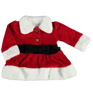 Baby Weihnachts-Kleid