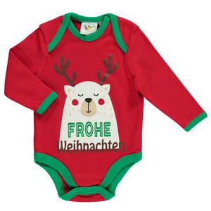 Baby Body mit weihnachtlichem Motiv