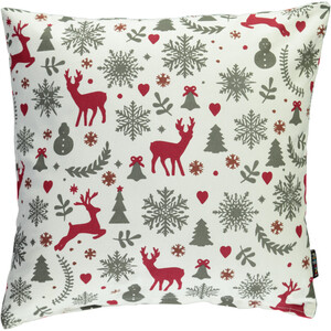 Kissen mit Weihnachtsmotiven 45x45cm