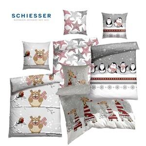 Feinbiber-Bettwäsche 100 % Baumwolle, 135 x 200/80 x 80 cm, 155 x 220/80 x 80 cm 39,95 €